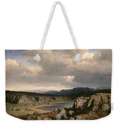 Norwegian Highlands Weekender Tote Bag