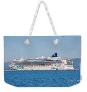 Norwegian Jade Cruise Ship Corfu Weekender Tote Bag