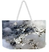 Norwegian Mountains From On High Weekender Tote Bag