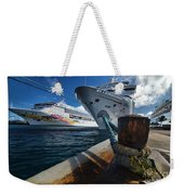 Norwegian Sky Carnival Sensation And Royal Caribbean Majesty Weekender Tote Bag