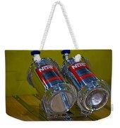 Nos Bottles In A Racing Truck Trunk Weekender Tote Bag