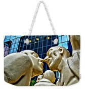 Nose To Nose In Montreal Weekender Tote Bag