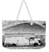 Not In Service Bw Palm Springs Weekender Tote Bag by William Dey