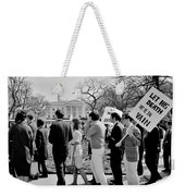 Not In Vain Weekender Tote Bag