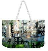 Not Just Numbers Weekender Tote Bag