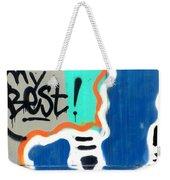 Not My Best Graffiti 1 Weekender Tote Bag