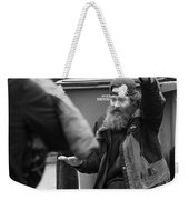Not Noticing The Hunger  Weekender Tote Bag