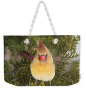 Not-so-angry Bird Weekender Tote Bag