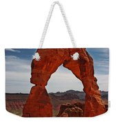 Not The Usual Delicate Arch View Weekender Tote Bag