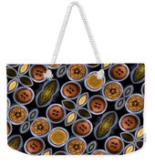 Not Your Mothers Button Box Weekender Tote Bag