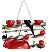 Notes Of Fruits Weekender Tote Bag
