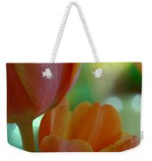 Nothing As Sweet As Your Tulips Weekender Tote Bag by Donna Blackhall