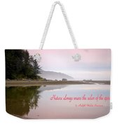 Nothing Like An Early Morning On The Oregon Coast  Weekender Tote Bag