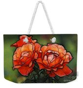 Nothing Sweeter Than A Rose Weekender Tote Bag
