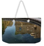Noto's Sicilian Baroque Architecture Reflected Weekender Tote Bag