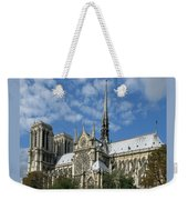 Notre Dame Cathedral Weekender Tote Bag