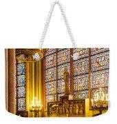 Notre Dame Chapel Weekender Tote Bag