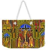 Notre Dame Color Weekender Tote Bag