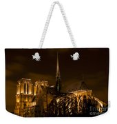 Notre-dame De Paris After Dark Weekender Tote Bag
