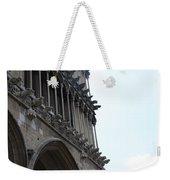 Notre Dame Gargoyle Row - Dijon Weekender Tote Bag