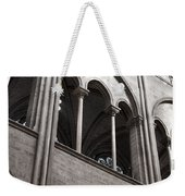 Notre Dame Gothic Arches Weekender Tote Bag