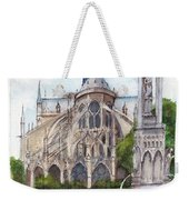 Notre Dame Paris In Spring Weekender Tote Bag