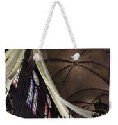Notre Dame With Cream Swag Weekender Tote Bag