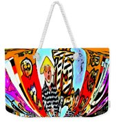 Notre Debut Abstract Weekender Tote Bag