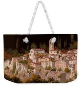 Notte Senza Luna Weekender Tote Bag by Guido Borelli