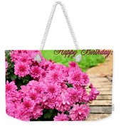 November Birthday Weekender Tote Bag