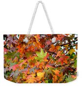November's Maples Weekender Tote Bag