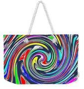 Novino Signature Art Walking Fine Lines Twirl Background Designs  And Color Tones N Color Shades Ava Weekender Tote Bag