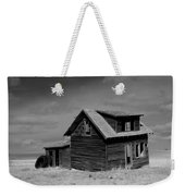Now An Old Stand For Tractor Tires Weekender Tote Bag