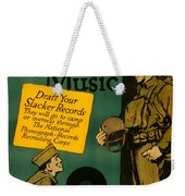 Now For Some Music Weekender Tote Bag
