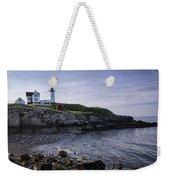 Nubble Dawn Weekender Tote Bag by Joan Carroll