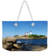 Nubble Light House York Beach Maine 2 Weekender Tote Bag