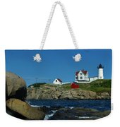 Nubble Light House York Beach Maine Weekender Tote Bag