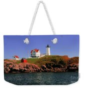 Nubble Lighthouse-cape Neddick Weekender Tote Bag