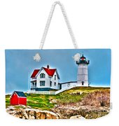 Nubble Lighthouse Cape Neddick Maine 2 Weekender Tote Bag