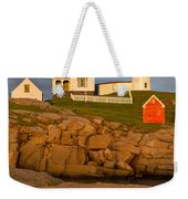 Nubble Lighthouse No 1 Weekender Tote Bag