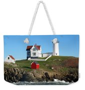 Nubble Lighthouse One Weekender Tote Bag