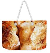 Nude 06 Weekender Tote Bag by Emerico Imre Toth