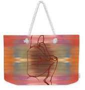 Nude 12 Weekender Tote Bag by Patrick J Murphy