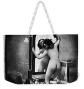 Nude And Mirror, C1850 Weekender Tote Bag