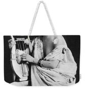 Nude As Ancient Lyrist Weekender Tote Bag