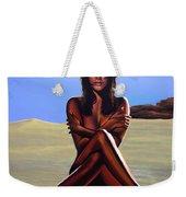 Nude Beach Beauty Weekender Tote Bag