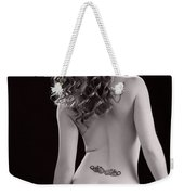Nude Girl Woman Booty 1200.01 Weekender Tote Bag