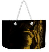 Nude - Chiaroscuro Weekender Tote Bag by Dorina  Costras