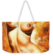 Nude Details Weekender Tote Bag by Emerico Imre Toth