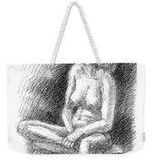 Nude Female Sketches 2 Weekender Tote Bag